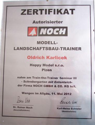 certifikát noch